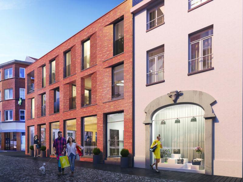 Halle Basiliekstraat - Commerciële ruimte - Historisch pand - Centrumlocatie