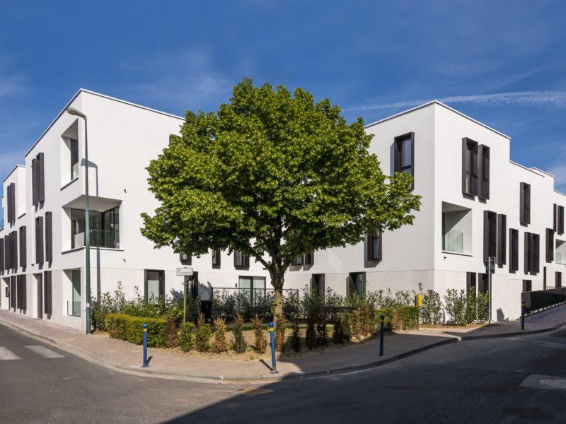 Lindenhof - Exterieur - Overijsesteenweg/Edgard Sohiestraat - Hoeilaart