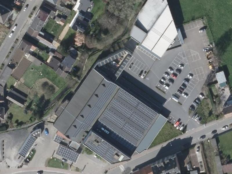 Bleukenweg Merchtem - luchtfoto